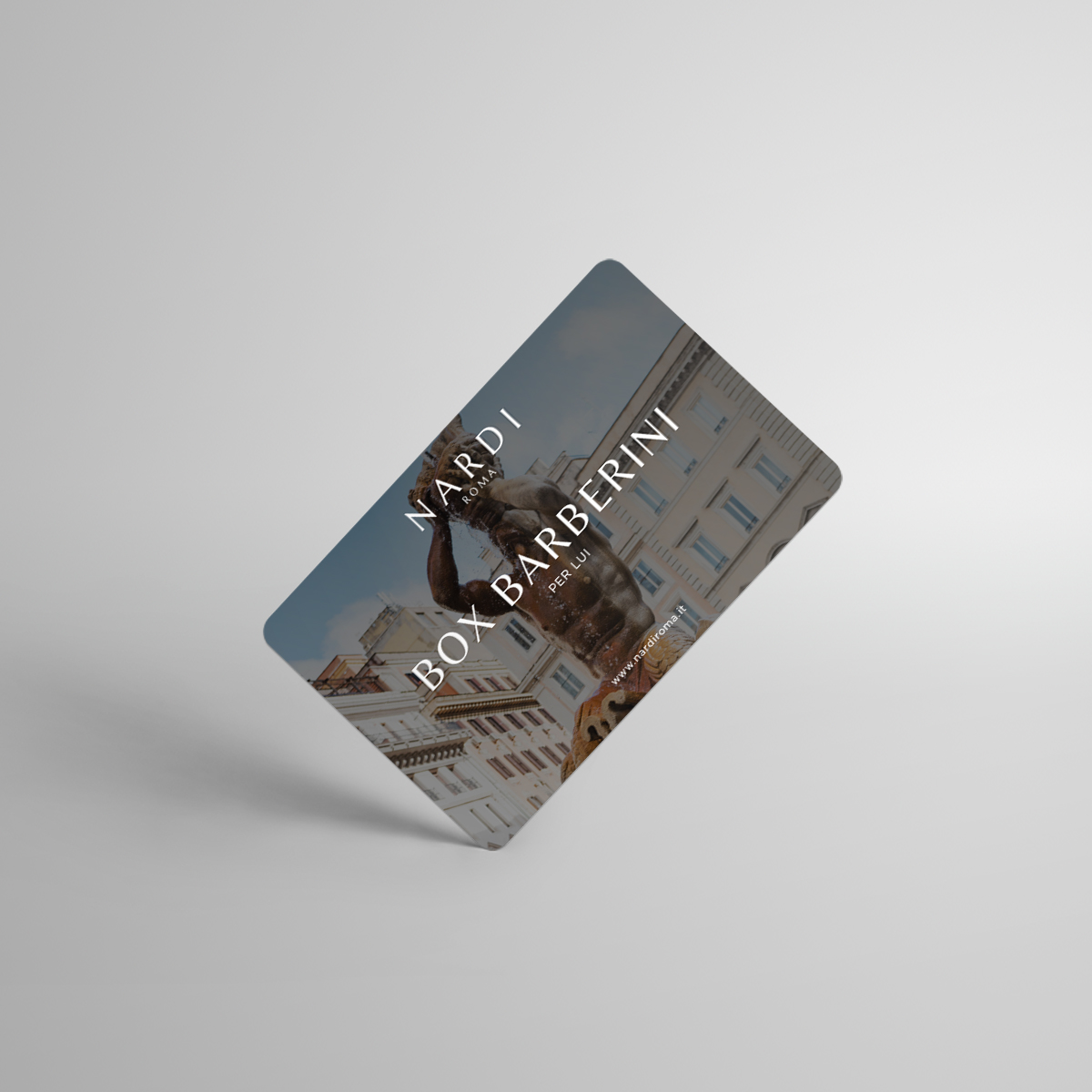 Box Barberini Card Nardi Roma Shop per lui